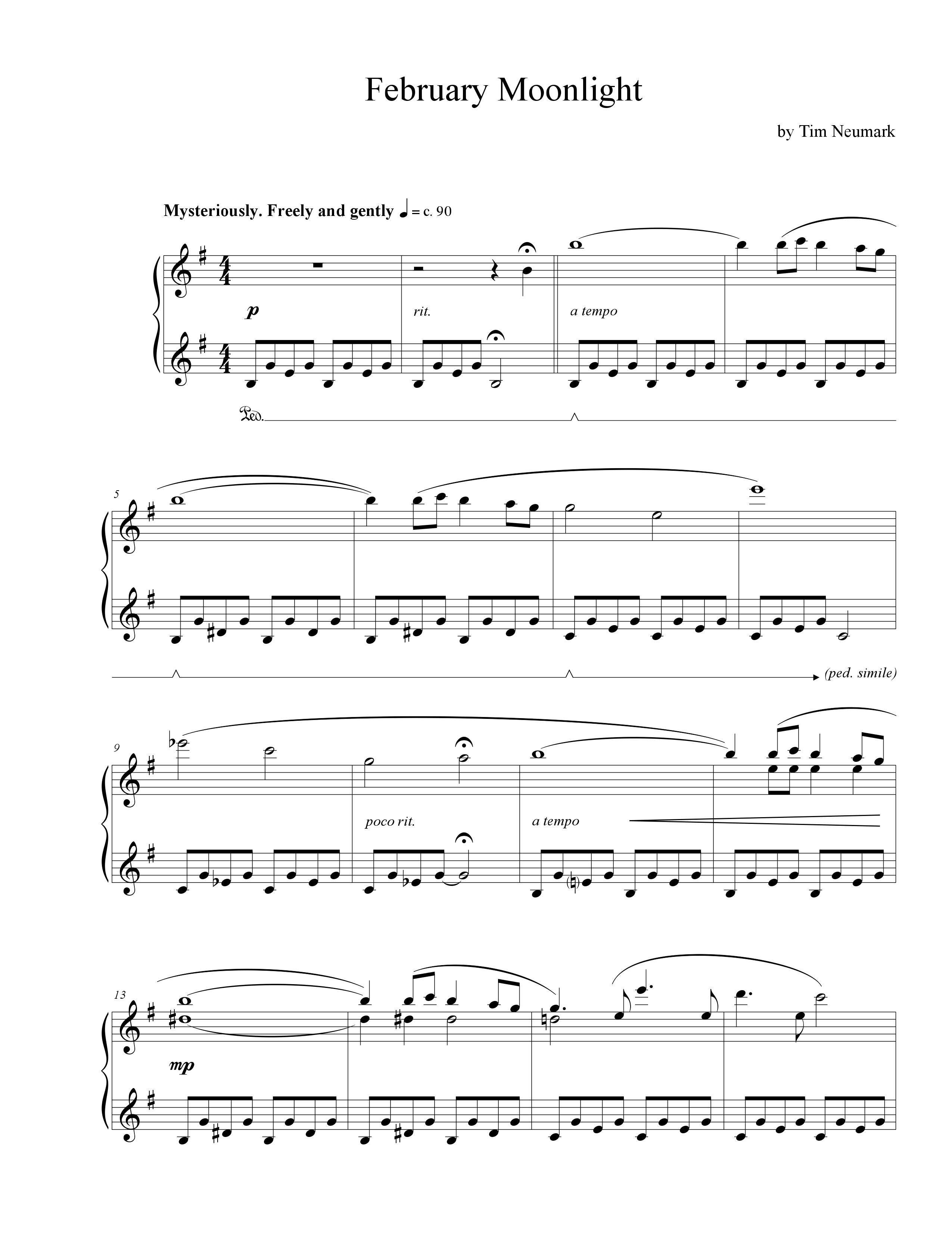 Tim's Store: Sheet Music Search